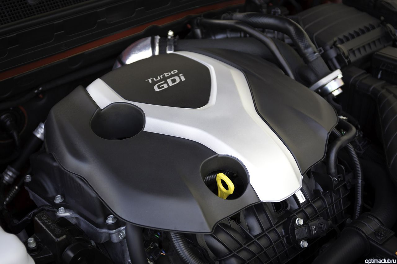 Kia Optima 2014 двигатель