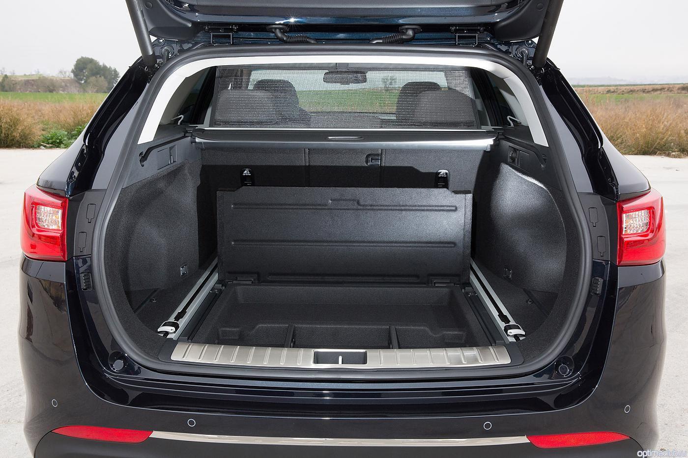 KIA Optima Wagon полочки в багажнике