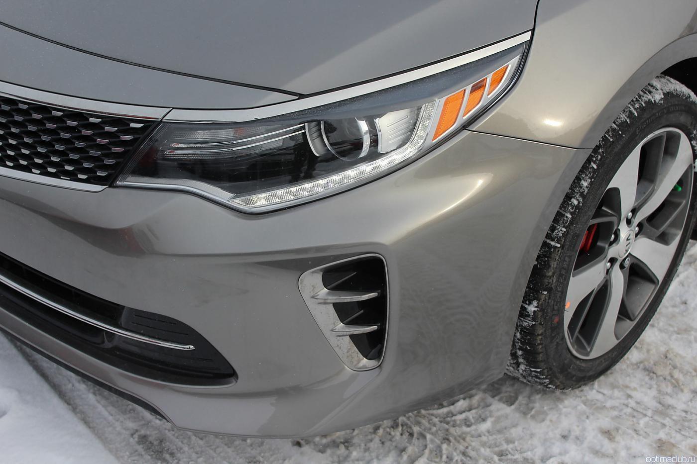 KIA Optima GT передний бампер