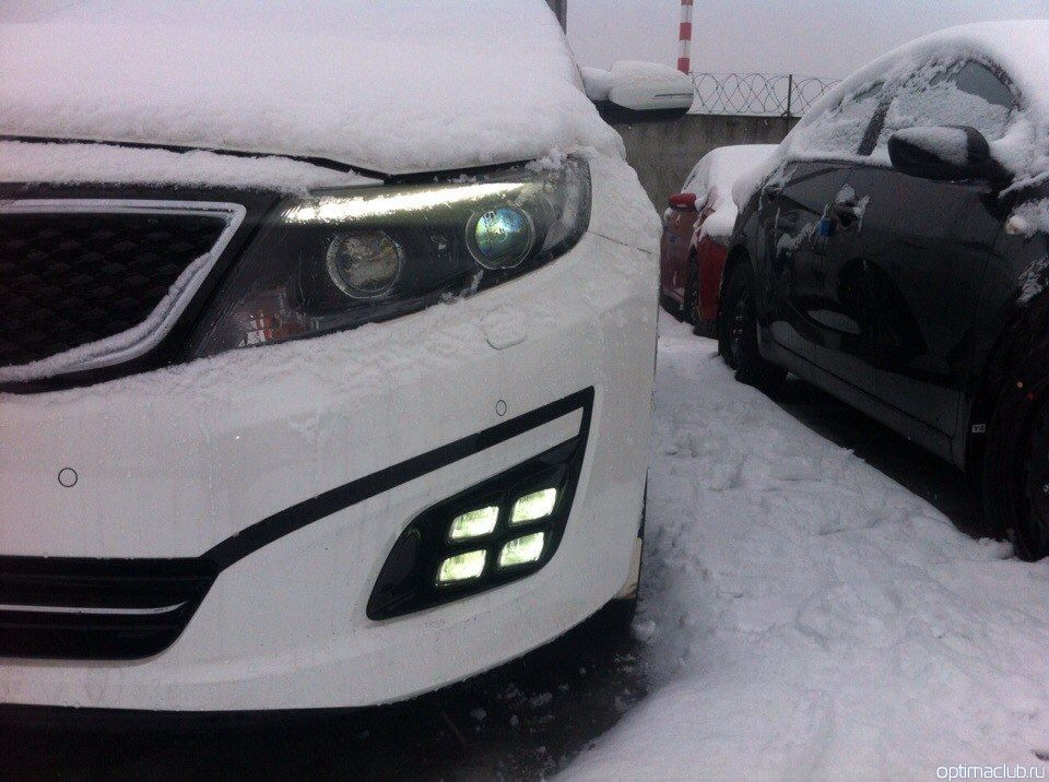 Kia Optima 2014 новая оптика