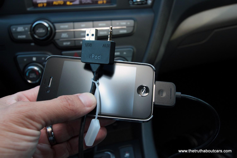 подключение iphone KIA Optima