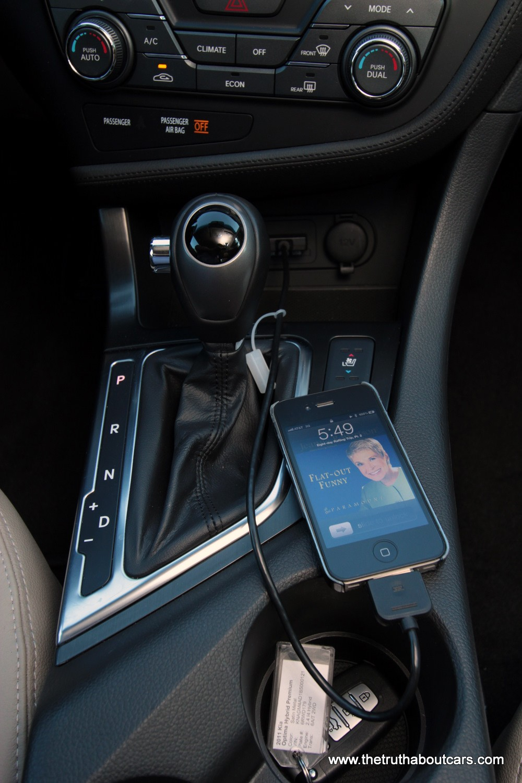 подключение iphone киа оптима