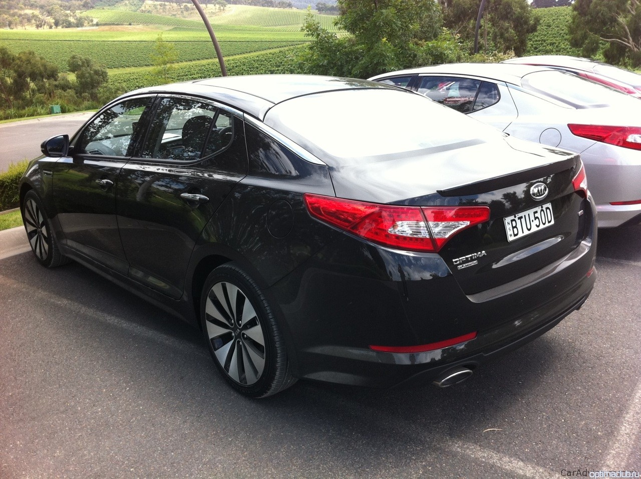 kia optima Ebony Black