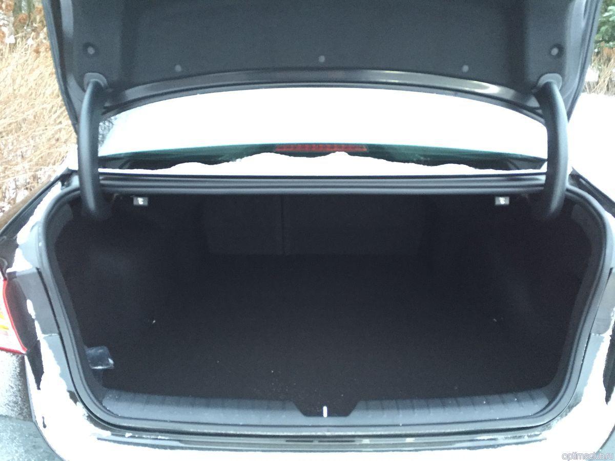 киа оптима 2016 фото багажника